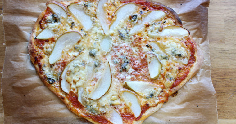 Domáca kvásková pizza