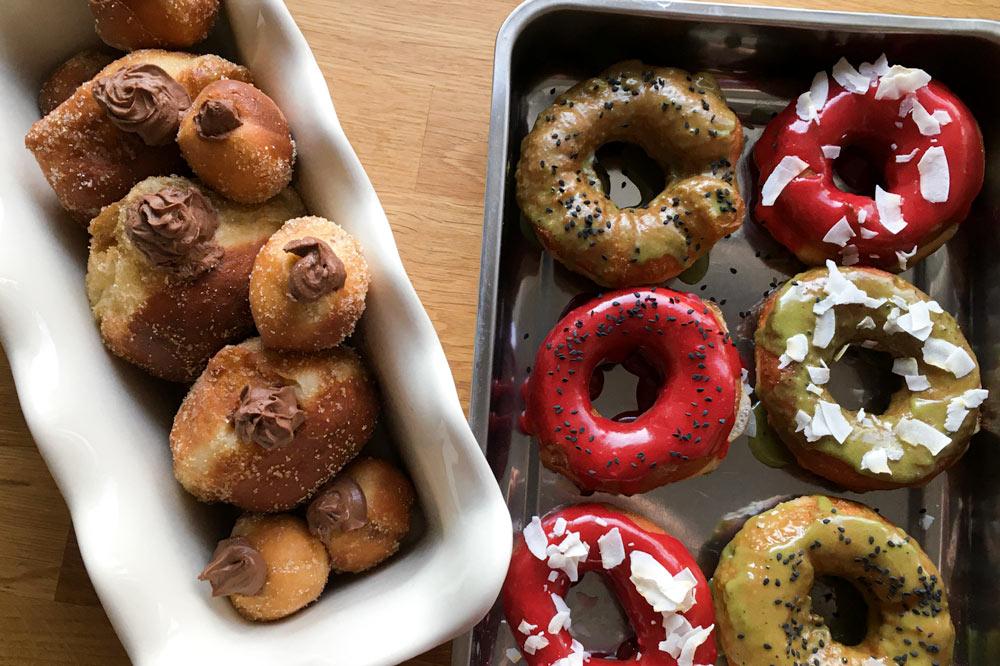 Kváskové donuty a šišky