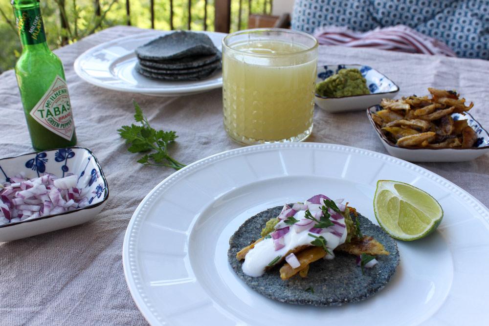 Kukuričné tacos