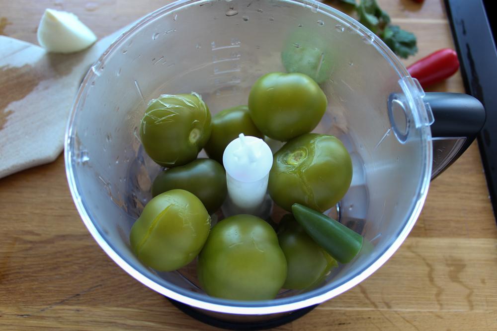 Tomatillos uvarené