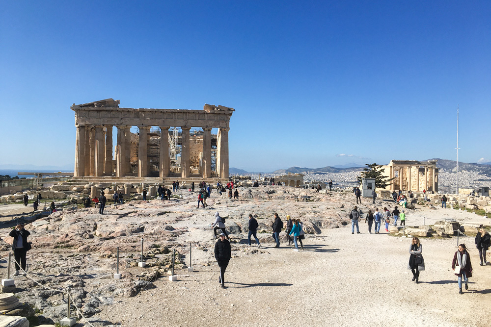 Akropola v Aténach