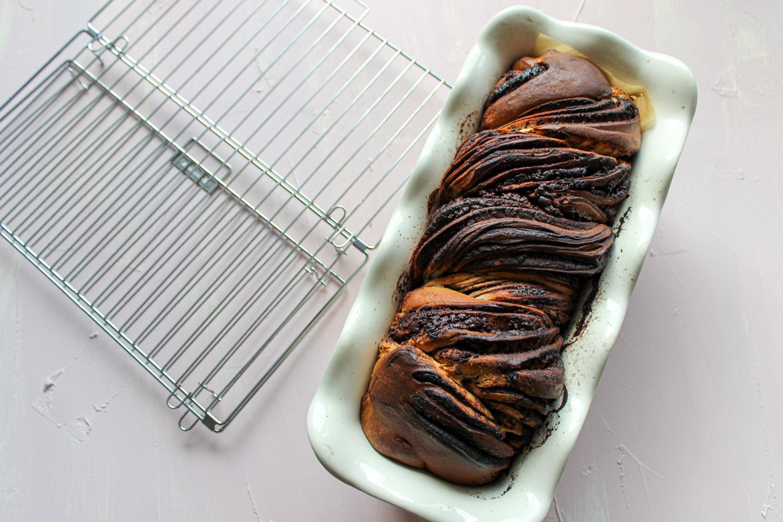 Čokoládová babka z kvásku