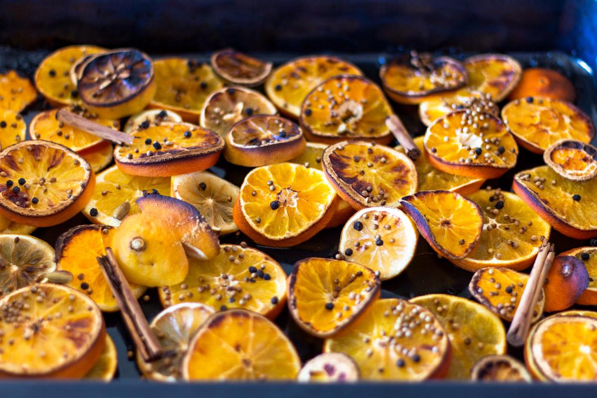 Grilované citrusy