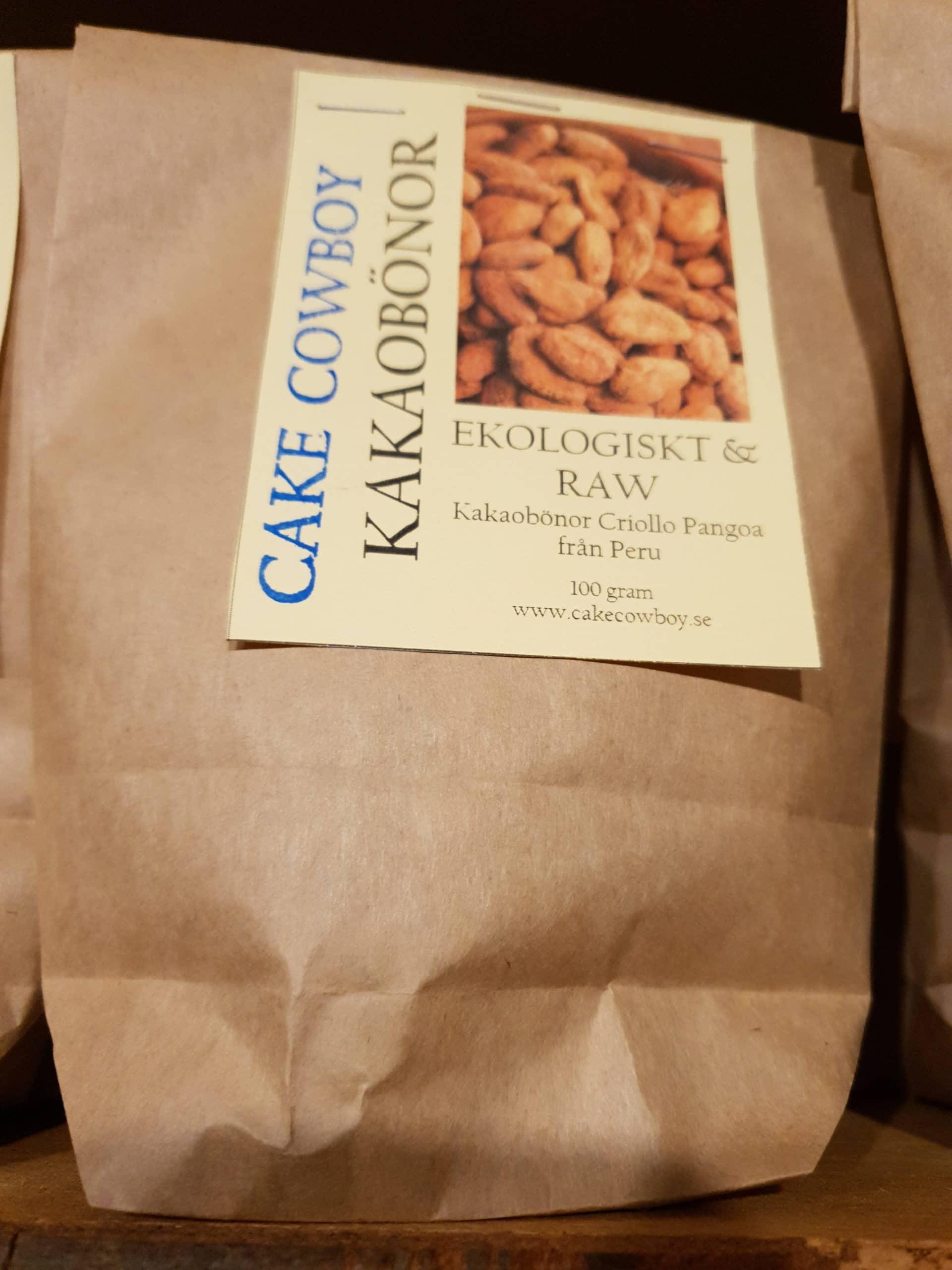 Kakaobönor Criollo Pangoa från Peru