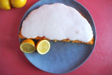 Glutenfri citronmåne