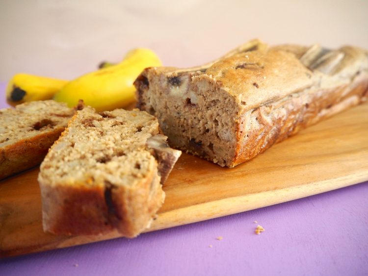 Glutenfri bananbrød