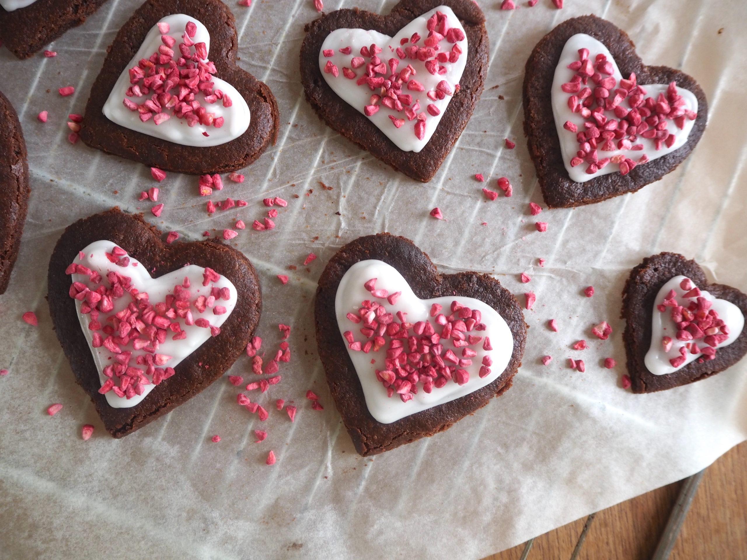 Småkager med chokolade