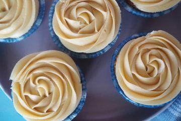 Banancupcakes med chokolade