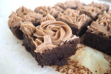 Brownie med nutella