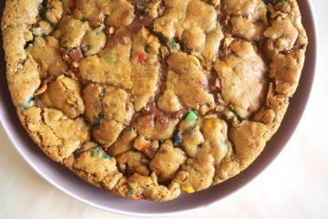 Cookiekage med nutella