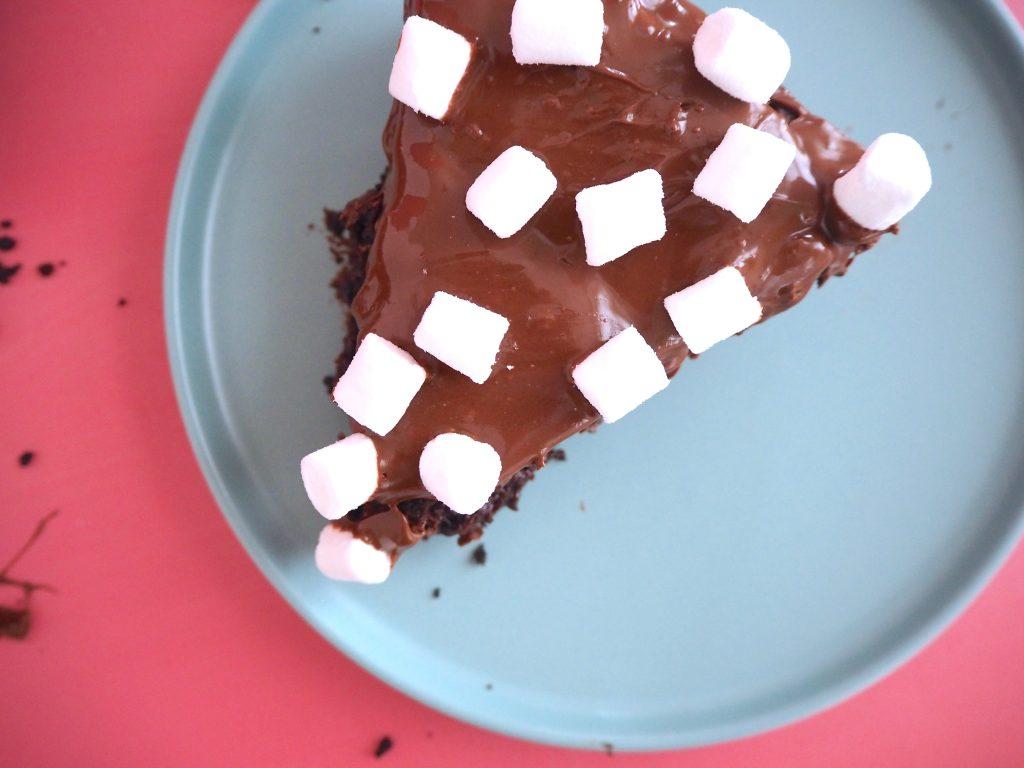 Chokoladekage med oreo