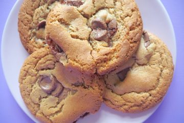 Cookies med peanutbutter