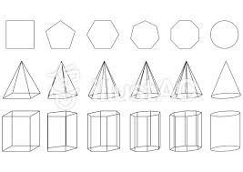 英語で言えますか?3D objects(立体)