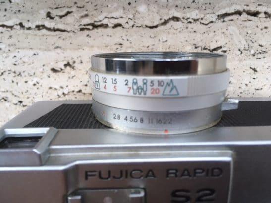 Zeer mooi Fujica Rapid S2 ( 1965 )