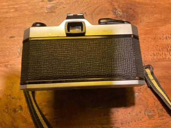 Pentax K1000 analog reflex camera & 50mm