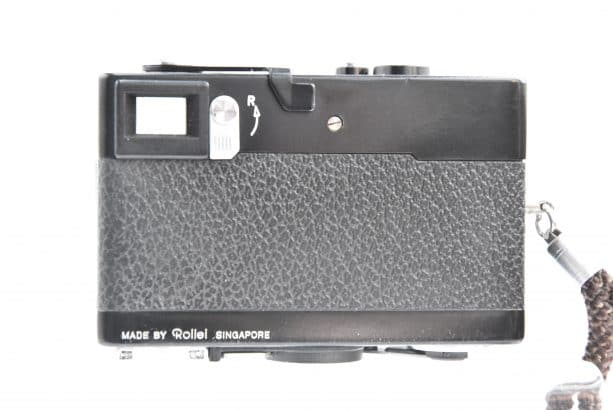 Rollei 35 S met Rollei Sonnar HFT 2,8/40 *Near Min
