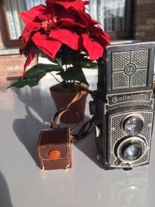 Antieken fototoestel Rolleicord