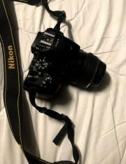 Nikon met accessoires