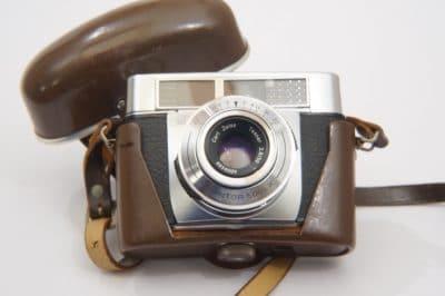 '60er Zeiss Ikon Contessa LK 35mm Camera m Tessar