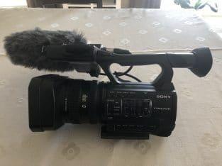 Professionele cameraset: Sony HXR-NX100 & Rode NTG