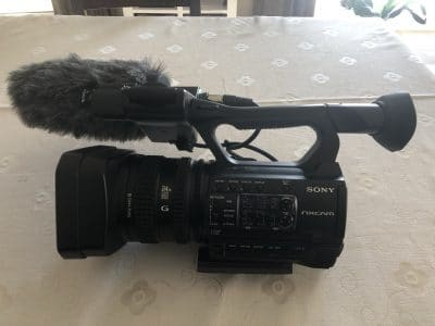 Professionele cameraset: Sony HXR-NX100 & Rode NTG