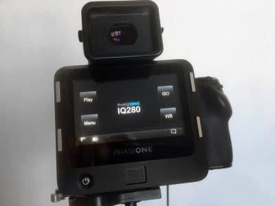 PHASE ONE IQ280 Digitale rug.