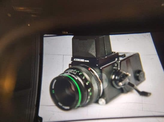 Bronica Zenza ETRS + Zenzanon E II 75mm f2.8 Lens