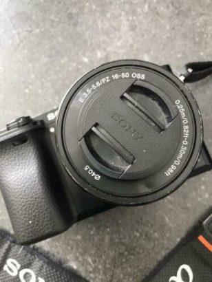Sony Alpha A6000 + 16 – 50 mm lens