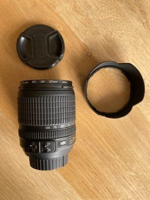 Nikon DX AF-S 18-105mm 1:3.5-5.6G VR + UV filter