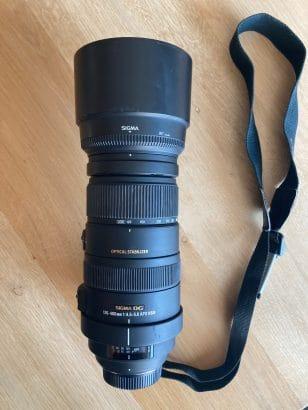 Sigma DG 120-400mm 1:4.5-5.6 APO HSM Nikon
