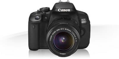 Canon eos 650D + EF-S 18-55mm + Canon EW-60C zonne