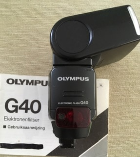 Elektronenflitser Olympus G40