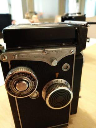 Yashikaflex camera 1954