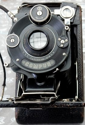 Oud fototoestel Compure