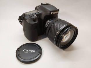 Canon 7D + Lens EF-S 15-85 USM + accesoires…