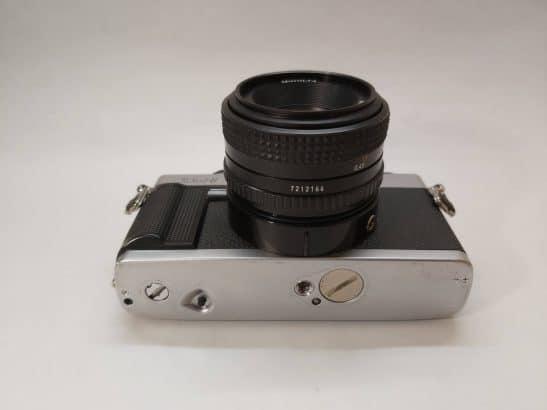 Minolta XG-1 + 50mm 1:1,7 lens