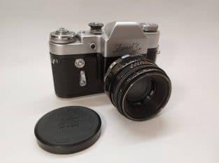Zenit 3m + Helios 44 – 2/58 lens