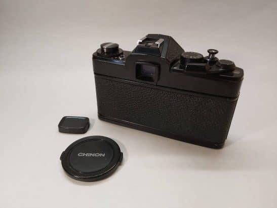 Chinon CE Memotron + Auto Chinon 55mm 1:1.7 lens
