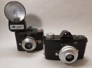 2 Agfa camera's Click-II & Clack + Clibo flash