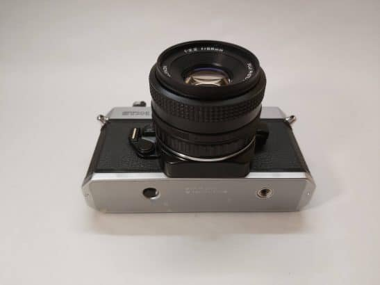 Fujica STX-1 + X-Fujinon 55mm f2,2 lens