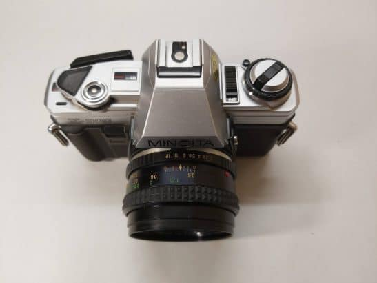 Minolta X-300 + MC-Rokkor PF 50mm f2 Lens