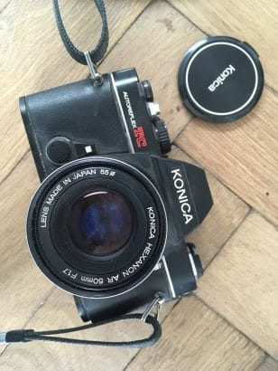 Konica Autoreflex TC + Hexanon AR 50mm f1.7 lens
