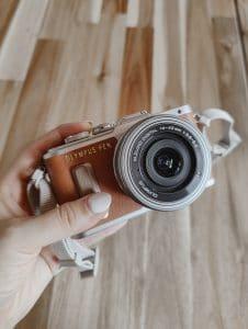 Gloednieuwe Olympus Pen E-PL8 Brown Kit