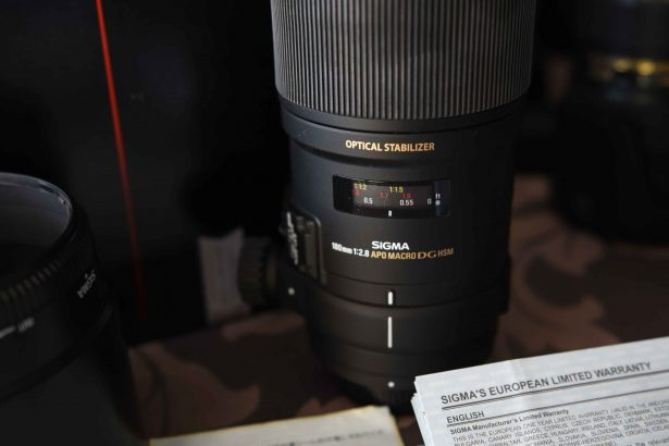 Sigma macro lens voor Nikon