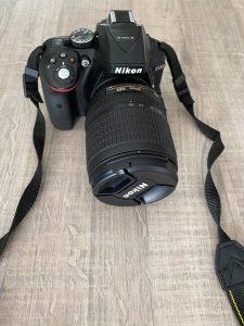 Nikon D5300 + 18-105mm VR – Zwart