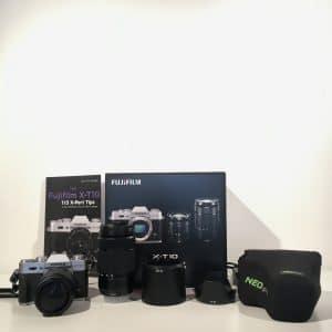 Fujifilm X-T10 kit 16-50 + 50-230