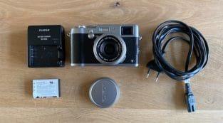 Fujifilm Finepix X100T Zilver – Pro lens en afwerk