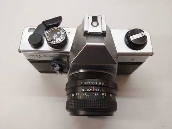 Praktica MTL 5 B + Pentacon 50mm / f1.8 lens