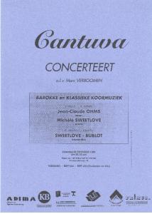 Cantuva Herfstconcert 1996