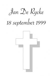 Cantvua Jan De Rycke